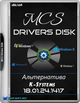 MCS Drivers Disk 18.01.24.1417