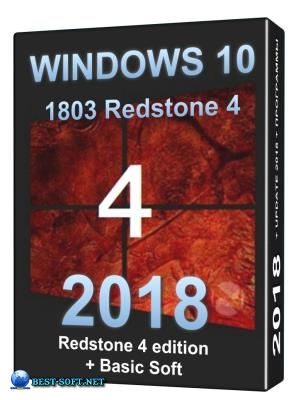 Windows 10 PRO Redstone 4 (1803 build 17133.1) x64 + base soft