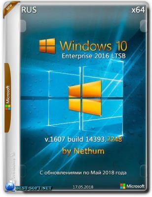 Windows 10 LTSB {x64} Build v.1607 build 14393.2248 / by Nethum