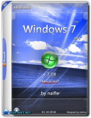 "Windows 7 Ultimate SP1 x86/x64 / ""MiniLite"" / v.7.18 by naifle"