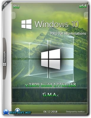 Windows 10 Pro for Workstations RS5 (x64) by G.M.A. [v.06.12.18]
