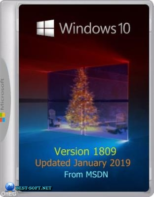 Windows 10 1809 ISO (Updated January'19) Оригинальные образы MSDN by W.Z.T