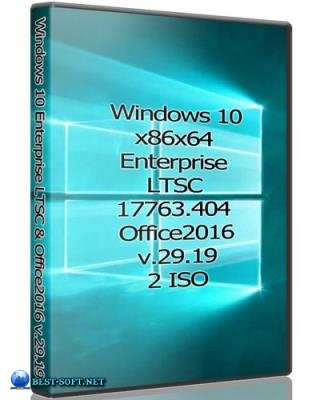 Windows 10x86x64 Enterprise LTSC 17763.404 & Office2016 by Uralsoft