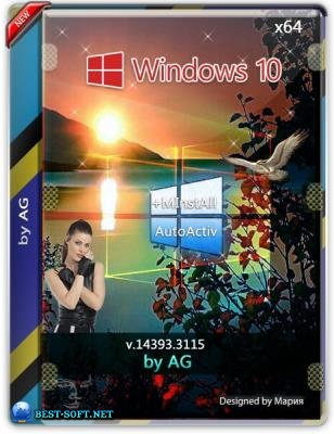 Windows 10 Enterprise LTSB WPI by AG 07.2019 [14393.3115]