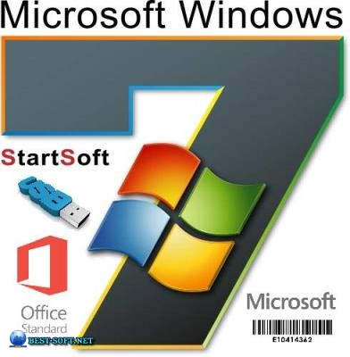 Windows 7 sp1 x64 AIO Plus Office Pack Release by StartSoft 19-2019