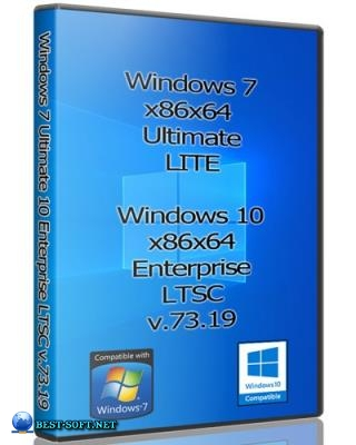 Windows 7 Ultimate & 10 Enterprise LTSC x86x64 by Uralsoft
