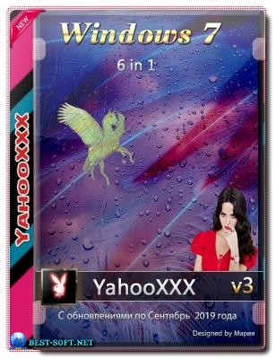 Windows 7 SP1 Final [6 in 1][09.2019] v3 (x64) by YahooXXX