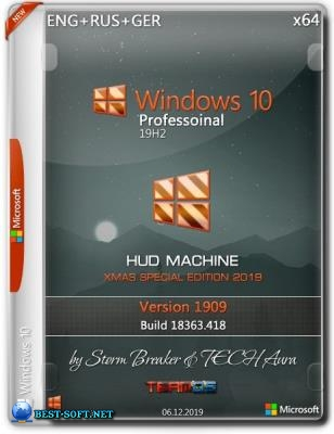 Windows 10 Pro x64 1909 HUD Machine Xmas Special Edition by SB & Aura