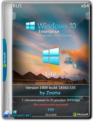 Windows 10 Enterprise x64 lite 1909 build 18363.535 by Zosma