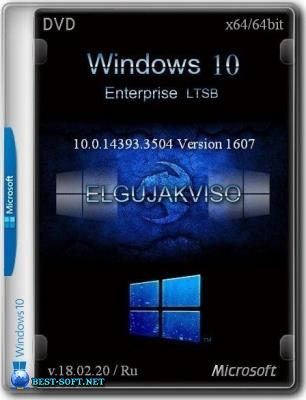 Windows 10 Enterprise LTSB (v. 1607) (x64) Elgujakviso Edition (v.18.02.20)