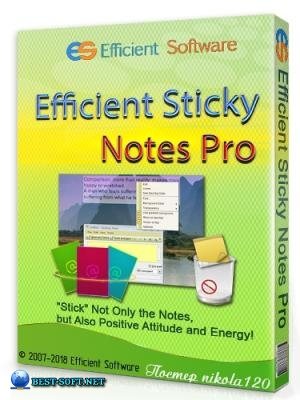 Efficient Sticky Notes Pro 5.60 Build 559 + Portable