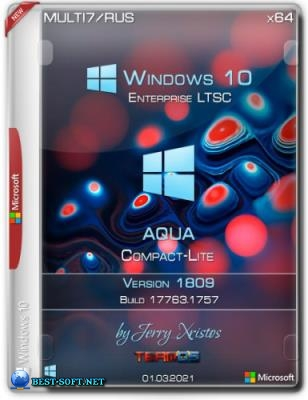 Windows 10 Enterprise LTSC x64 Aqua Compact-Lite by Jerry_Xristos Мультиязычная